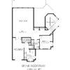90316-Upper Floor Plan
