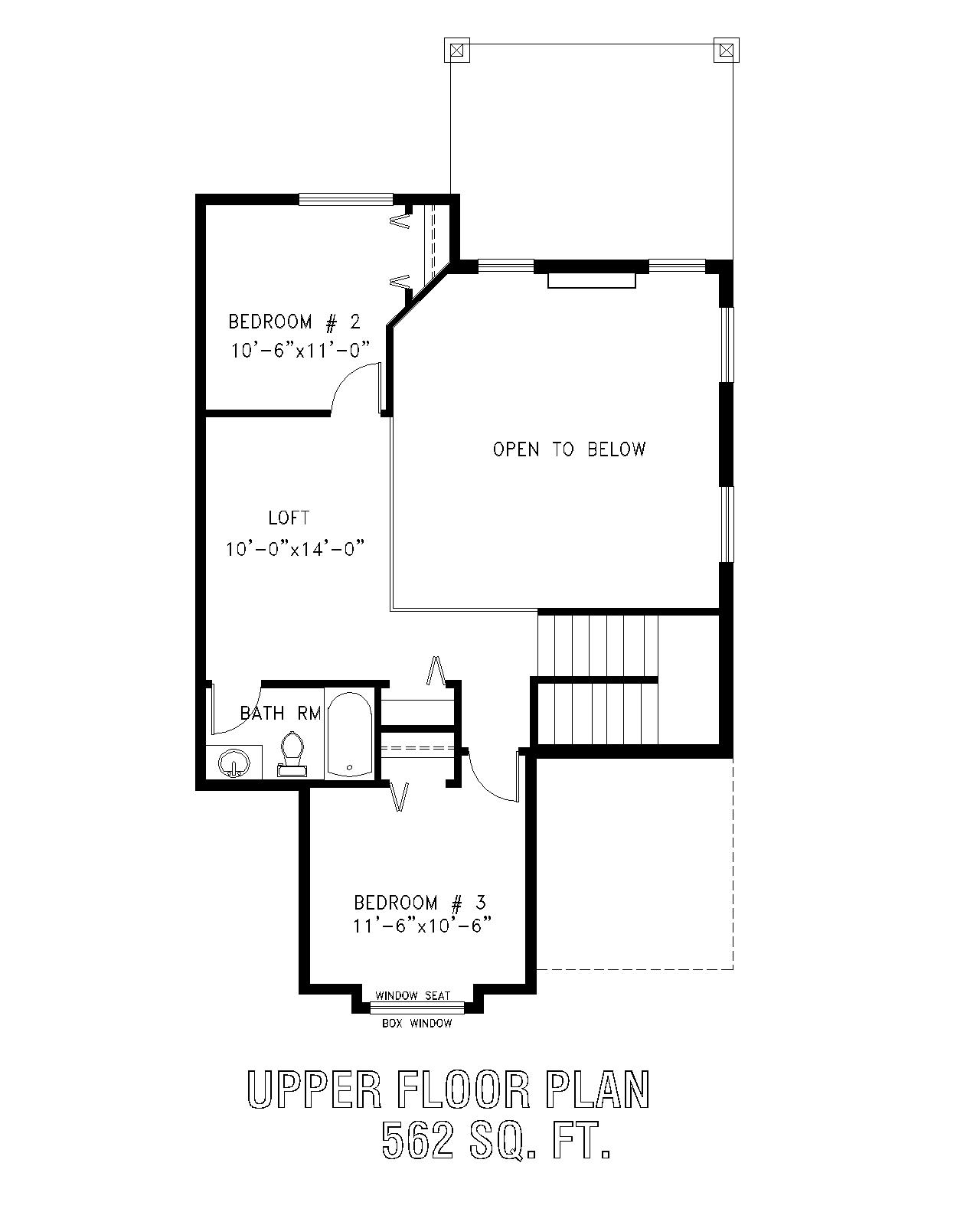 Thurber home plans for 126 simcoe floor plan